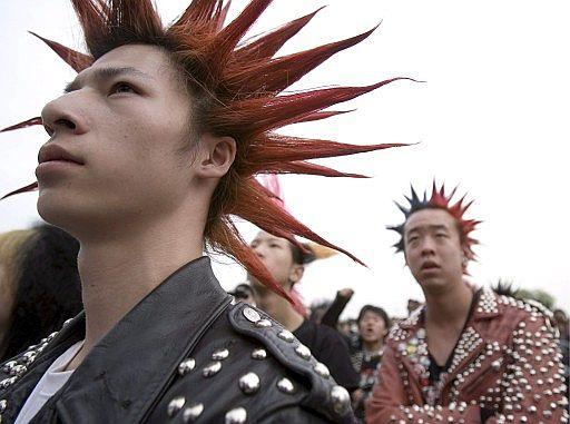crestas punk
