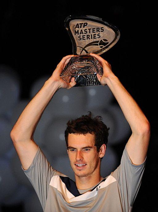 Andy Murray, campeon masters series de madrid 2008