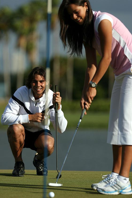 Rafael Nadal couple