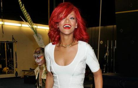 Rihanna en la despedida de soltera de katy perry i afp