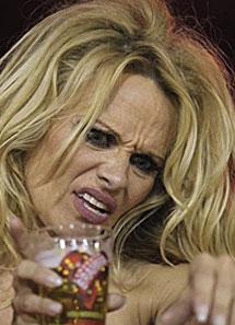 Pamela disfrutó del carnaval. | AP