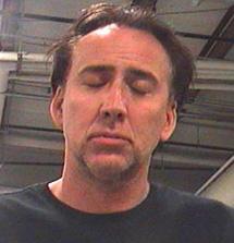 Nicolas Cage, después del arresto.
