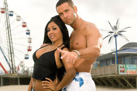 Snooki yThe Situation de Jersey Shore.