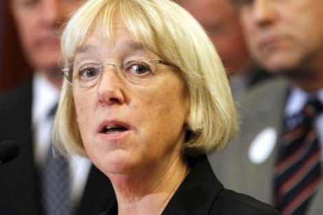 La senadora demócrata Patty Murray, una de las líderes del 'Super Comité'. | AP