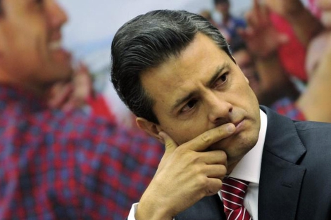 El candidato presidencial por el PRI, Pea Nieto. | Efe