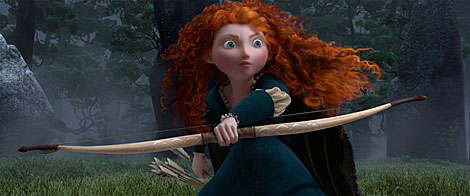 La herona de 'Brave'.