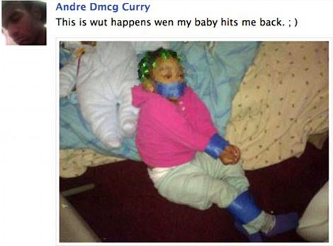 La imagen de Facebook con el comentario de Curry. | Facebook