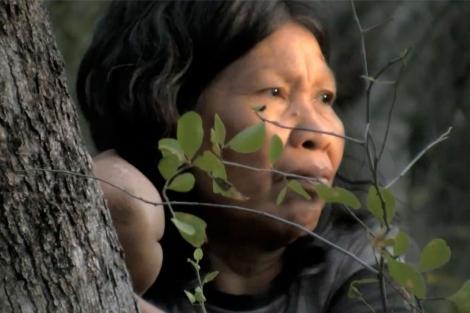 """Abandona la selva 'tribu escondida' de Paraguay"""""""