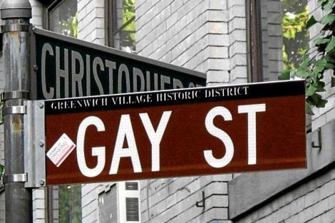 Cruce de las calles Gay St y Christopher, en el Village.| Carlos Fresneda