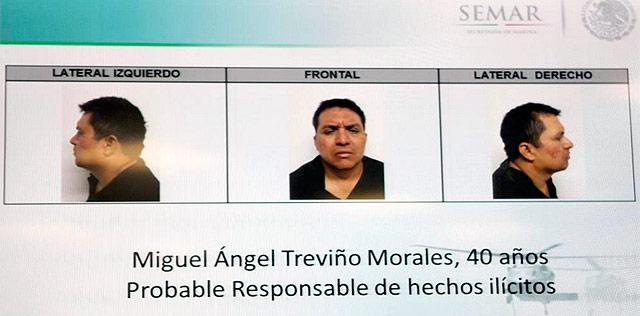 México captura al 'narco' Z-40, líder del sanguinario cártel de
