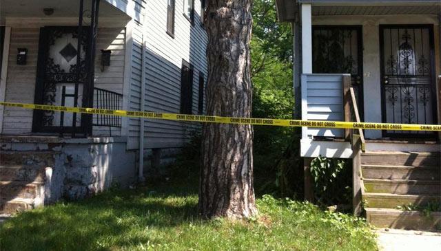 El lugar donde aparecieron los últimos cadáveres de Michael Madison.| Reuters
