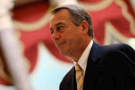 El republicano John Boehner.| Afp