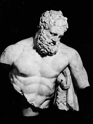 Escultura del dios Zeus