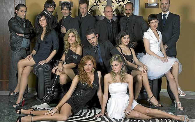 los protagonistas de la serie de television sin tetas no hay paraiso