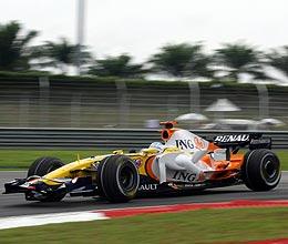 Alonso en Malasia