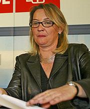 Eva Almunia, en una imagen tomada en 2005. (Foto: Alberto Cuéllar)