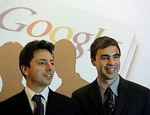 Sergey Brin y Larry Page, fundadores de Google. (Foto: EFE)
