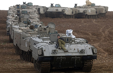 tanques israelies