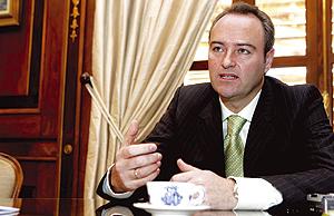 El alcalde de Castellón, Alberto Fabra. (Foto: Lidón Barberá)