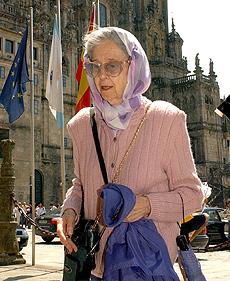 La reina Fabiola, en una imagen de 2004. (EFE)