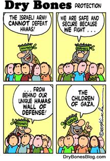 Acusa a Hamas de usar a niños como defensa.