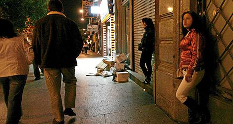 prostitutas callejeras madrid prostitutas guadalajara