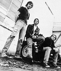 Novoselic, Grohl y Cobain.