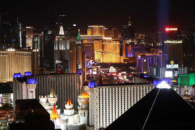 La Strip, avenida principal de Las Vegas. (Foto: S. Marcus)