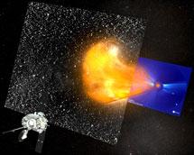 Imagen de los observatorios STEREO. | NASA