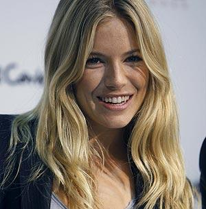 Sienna Miller, en Madrid. | Efe