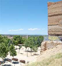 Imagen de la zona donde irá el Minivaticano. (R.B.)