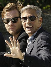 McGregor y Clooney. | Afp