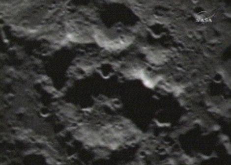 Imagen del impacto de LCROSS