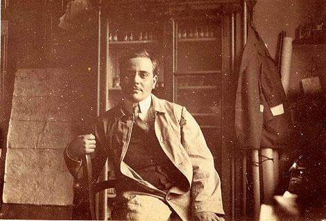 Juan Negrín, en su juventud.