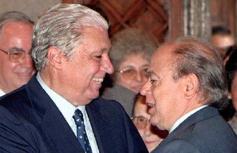 Alavedra junto a Pujol en 1997. | Efe