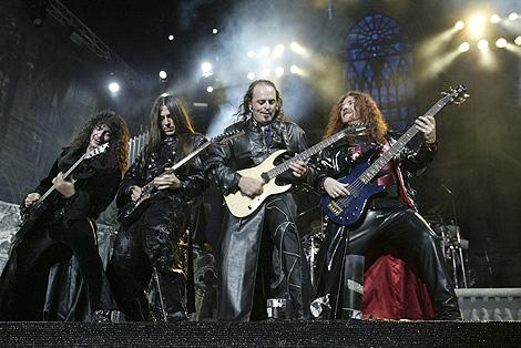 El grupo Mago de Oz, en un concierto en Las Ventas. | Kike Para