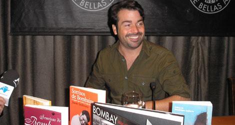 Jaume Sanllorente, sonriente durante la presentación en Madrid | A. C. López