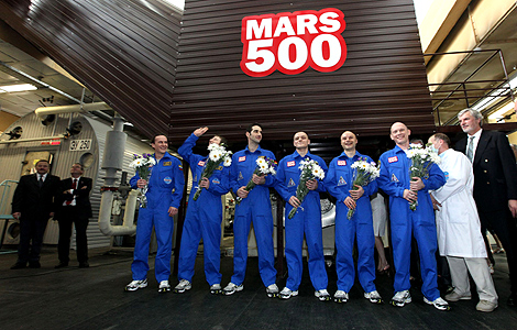 Integrantes do Mars500