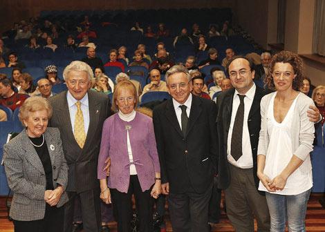 Alicia Martín�Baró, Antonio Pelayo, Catalina Montes, Pedro Miguel Lamet, Vidal Arranz y Eva Moreno. | J.M. Lostau