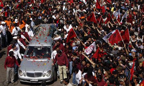 Miles de chilenos han despedido este sábado a Víctor Jara. | AP