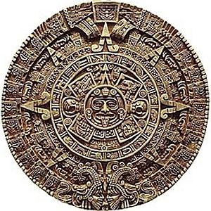 Un calendario de mesa maya.