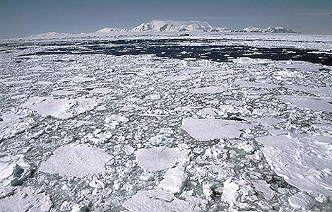 Una imagen de la Antártida. | 'British Antarctic Survey'