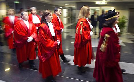 Alcuni giudici arrivano al Tribunale di Roma per l'apertura dell'anno giudiziario. | Reuters