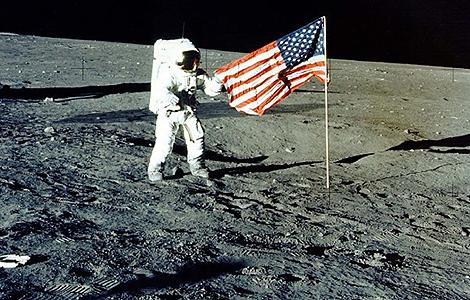 Foto de archivo de la llegada del hombre a la Luna en 1969. | NASA