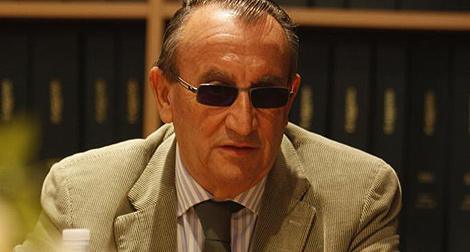 El presidente de la Diputación de Castellón, Carlos Fabra. | J. Martí