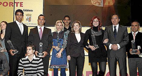 Premiados en la Gala del Deporte. | Ical