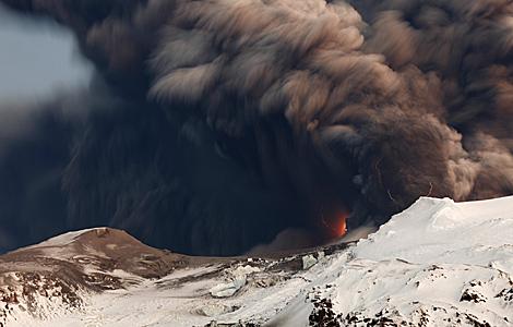 El glaciar, fotografíado el domingo. | Reuters