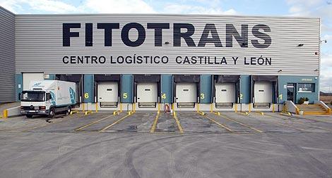 Fitotrans, centro logístico en Dueñas, Palencia. | Ical