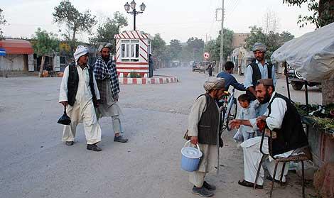 Una imagen de la localidad de Qala-e-naw este miércoles. M. BERNABÉ