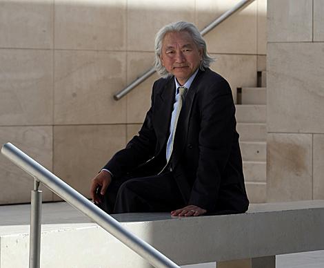 Michio Kaku, durante su visita a Barcelona. | Quique García